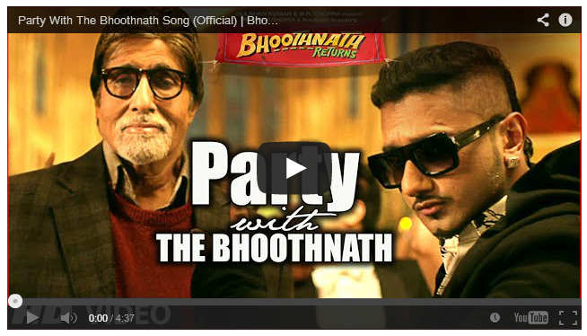 party with the bhoothnath-honey songh