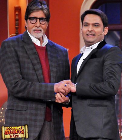 amitabh bachchan with kapil