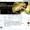 Superstar Rajinikanth Joined Twitter on 5 May 2014- twitter@superstarrajini
