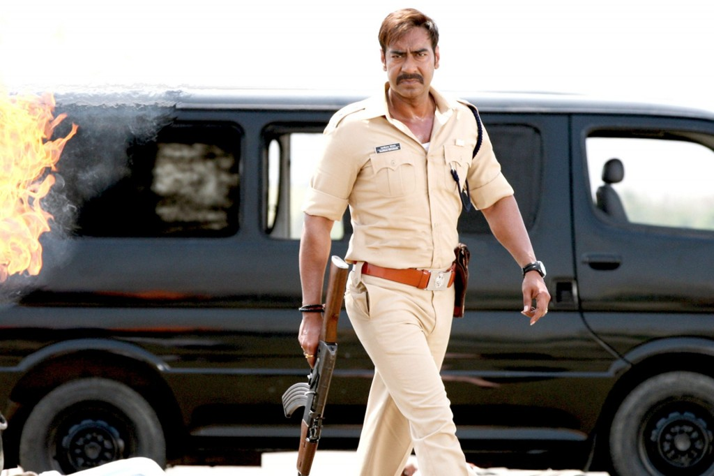 Singham Returns Ajay In Action Wallpaper