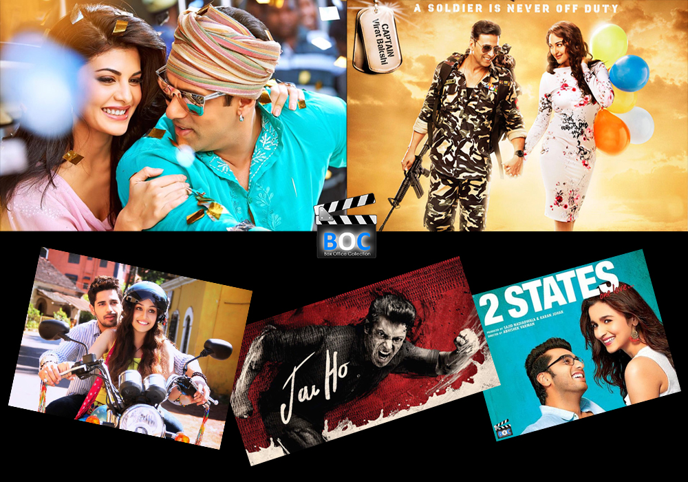 Highest grossing bollywood movie 2014 box office collection - Highest box office collection bollywood ...