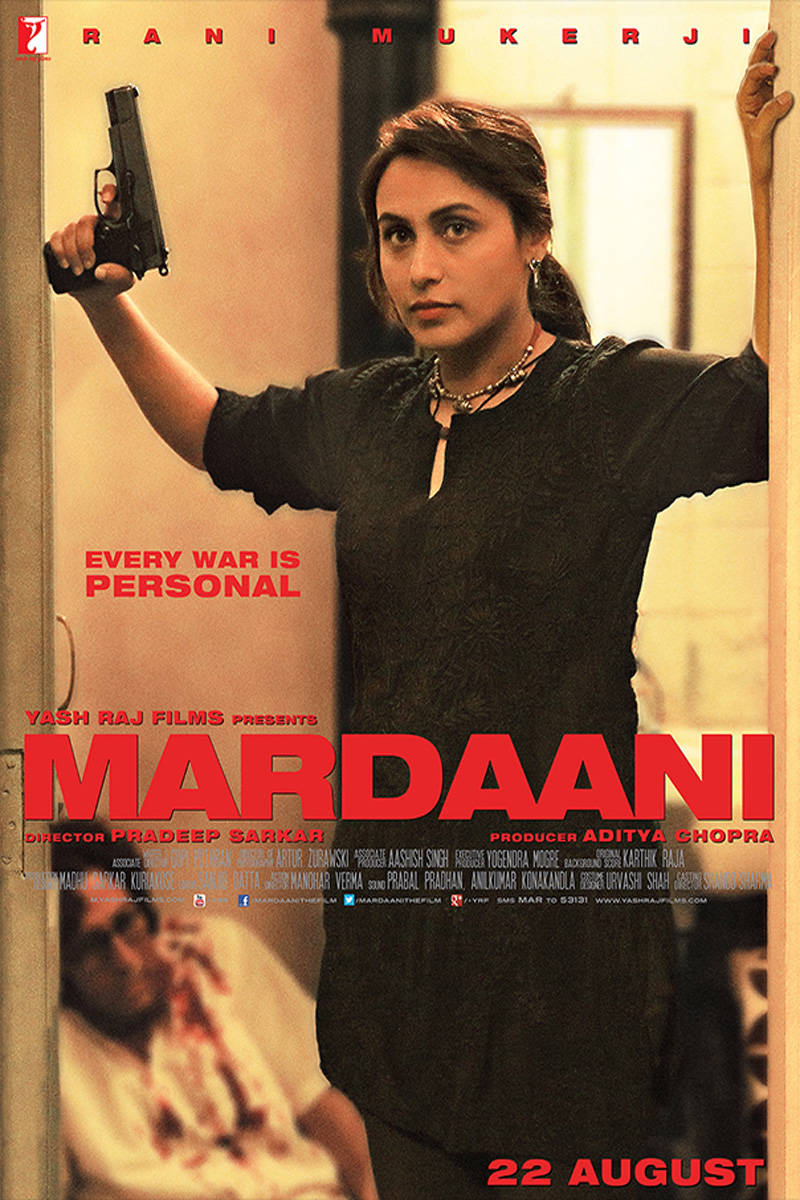 Mardaani 4th (Fourth) Day Total Box Office Collection Report