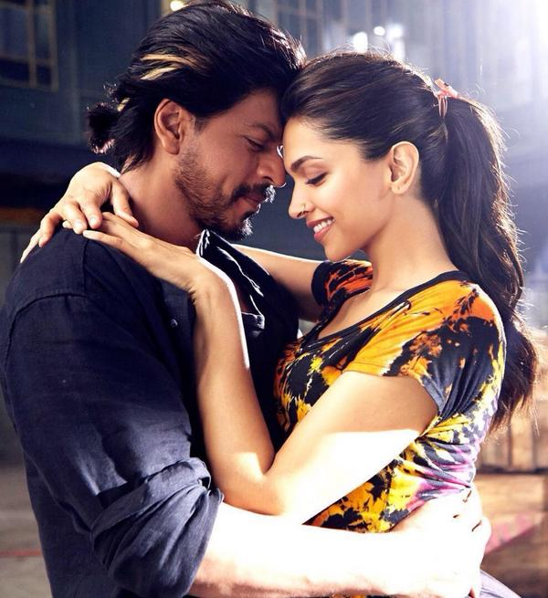 Happy New Year Shahrukh & Deepika