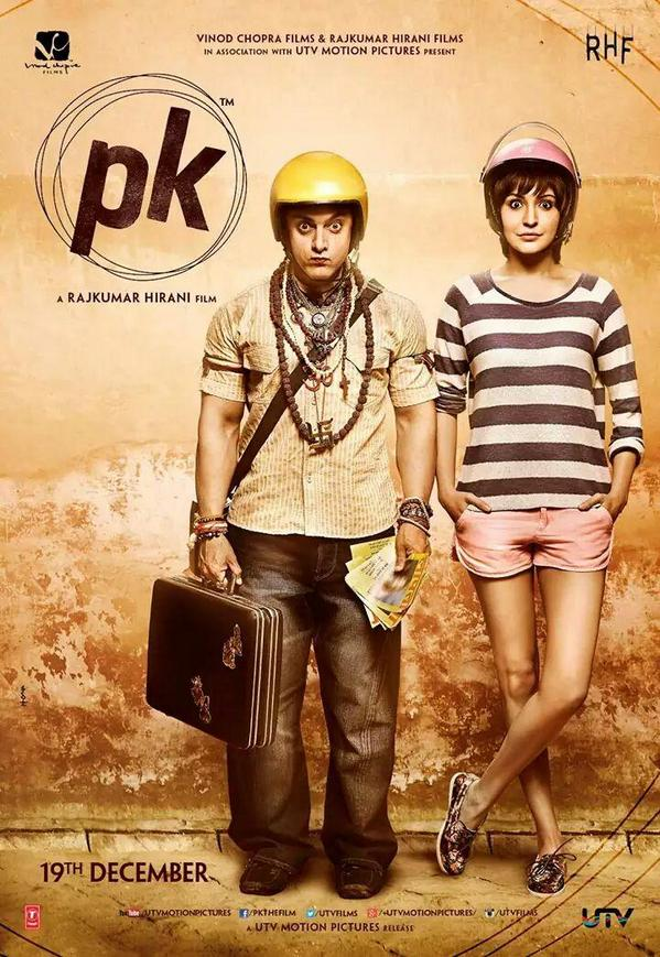 PK movie Aamir Khan- Anushka Sharma