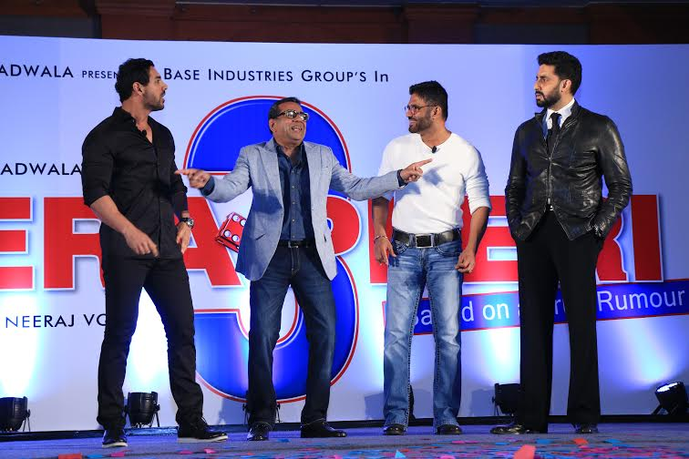 hera pheri 3 launch
