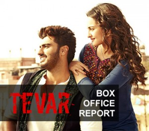tevar box office report