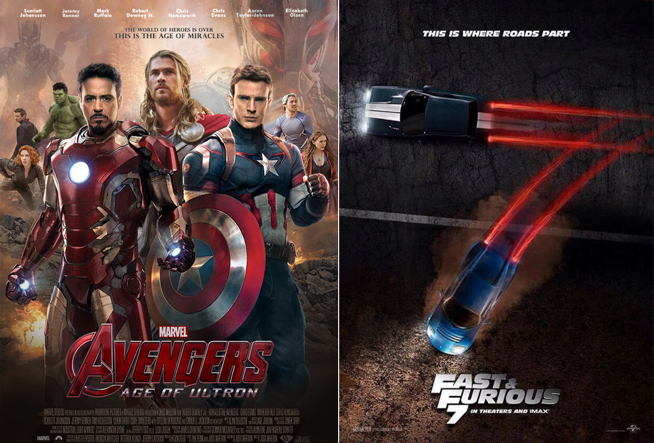 avengers2-fast and furious 7