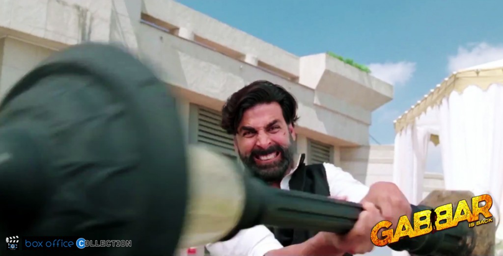 gabbar first day collection