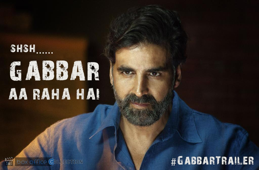 gabbar movie trailer