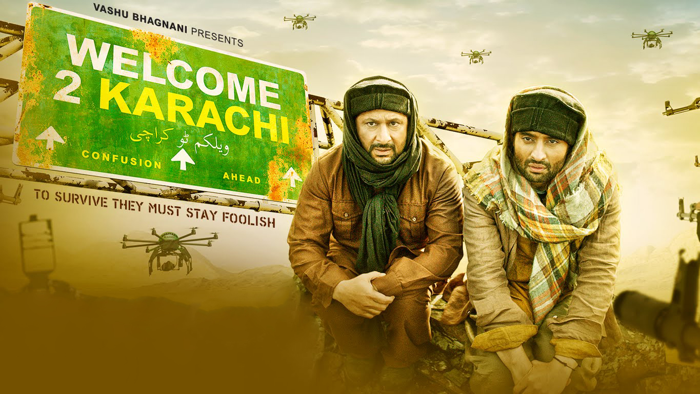 welcome 2 karachi today