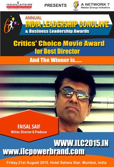 faisal saif best director award