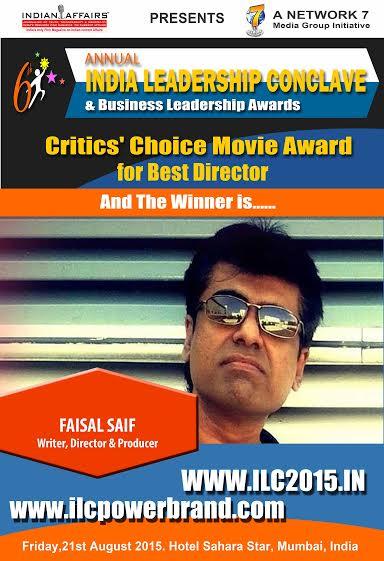 faisal saif best director award
