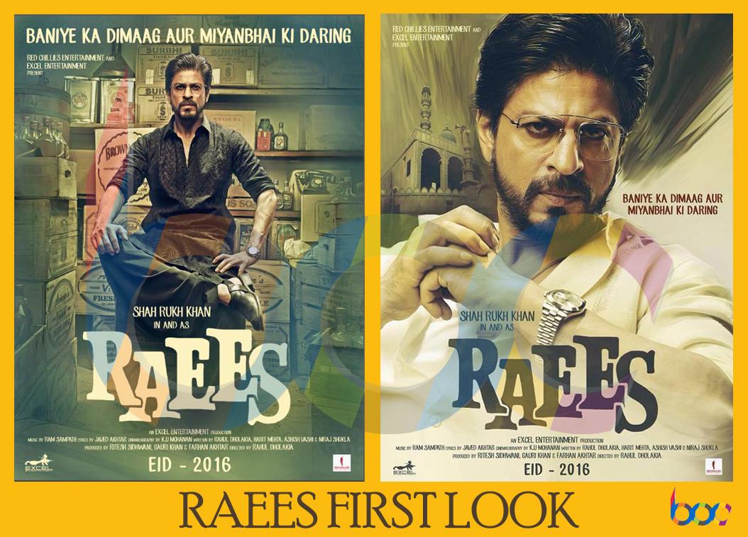 Raees First Look