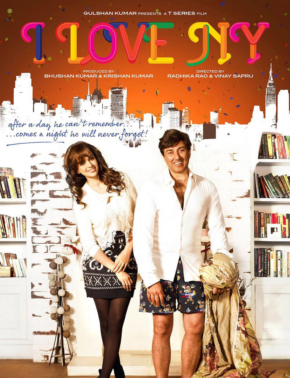 i love ny hindi movie poster