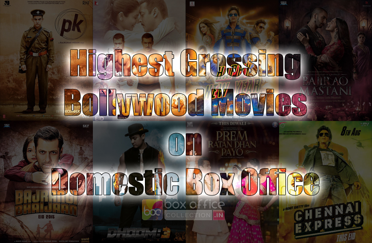 Top highest grossing hindi movies box office collection - Highest box office collection bollywood ...