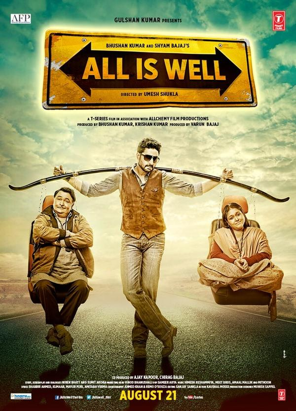 First Day Collection Prediction of 'All is Well': Total Expected Collection in India