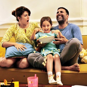 Naisha Khanna Cute Pics & Images: Little Diva in 'Brothers' as Akshay's daughter