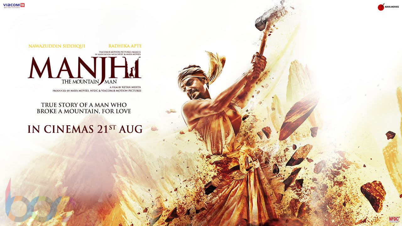 'Manjhi' Movie Details: Ft. Nawazuddin Siddiqui & Radhika Apte, Releasing on 21st August