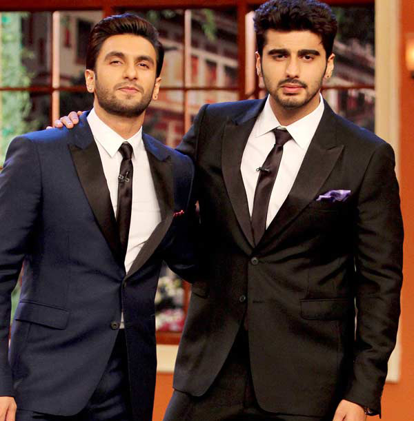 Ranveer and Arjun in Ram Lakhan remake