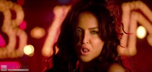 Elli Avram Hot Looks in Bam Bam Song-13