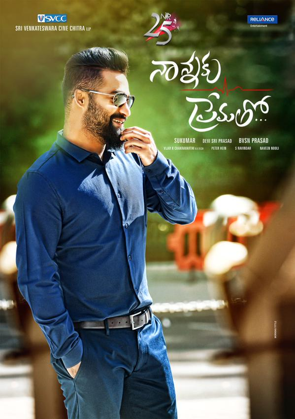 Nannaku Prematho first look poster