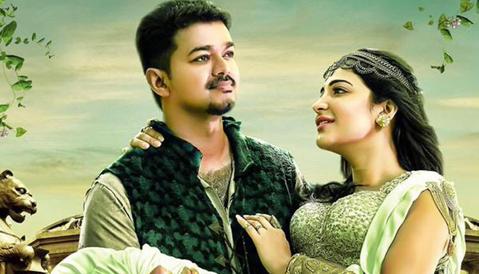 puli vijay and shruti haasan