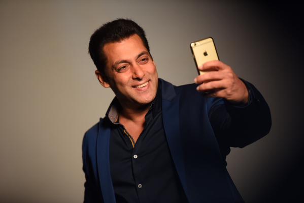 salman khan selfie