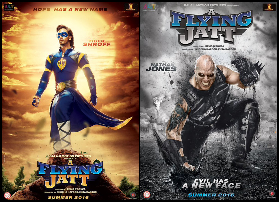 a flying jatt first look poster