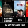 Bollywood Movies to be Released this Week on 30th October 2015 (Friday)