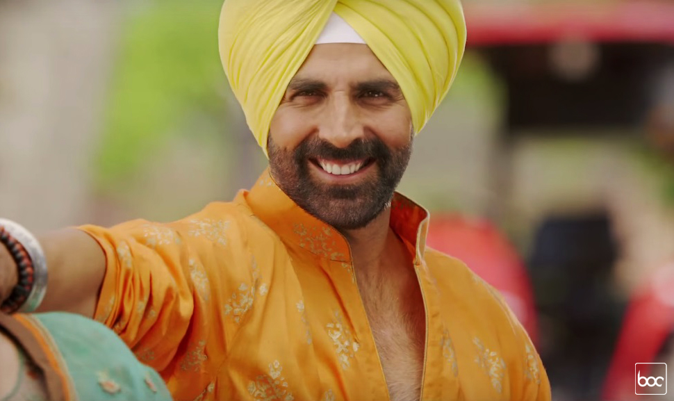 singh is bling akshay smiling