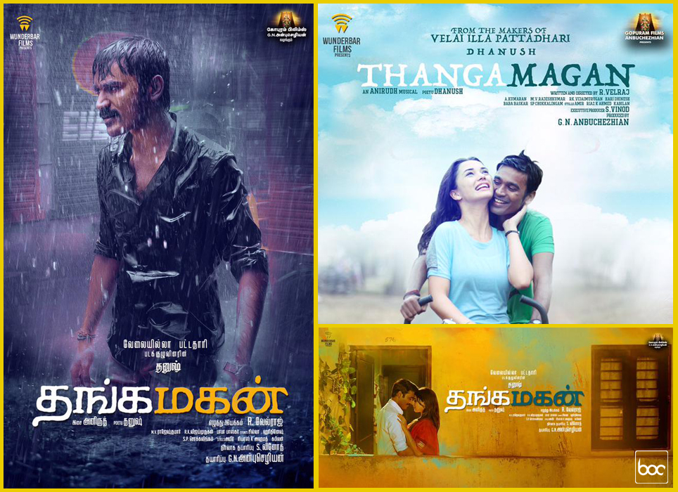 thanga magan official posters