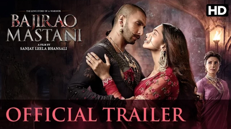 bajirao mastani trailer youtube