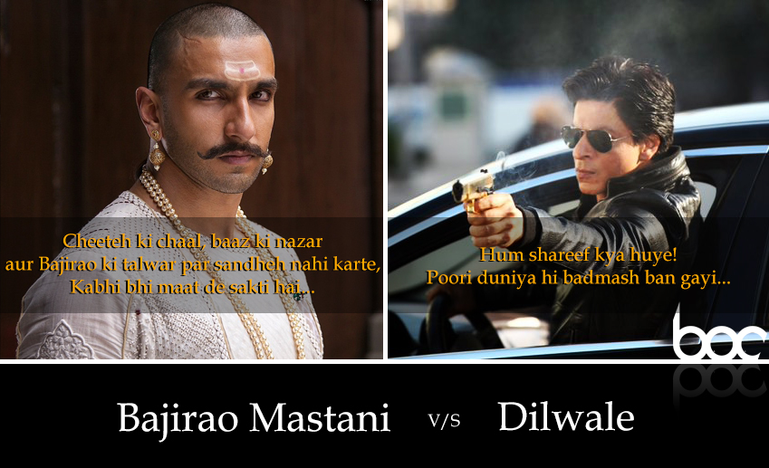 dilwale vs bajirao mastani 18 december