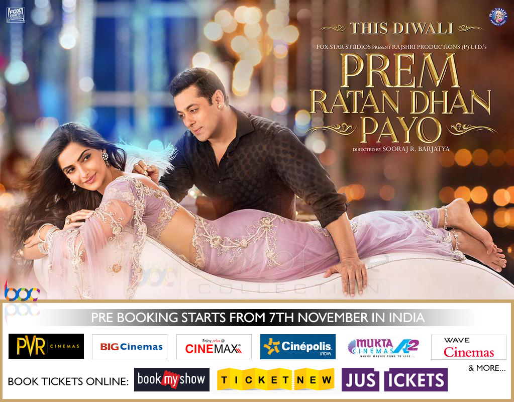 prem ratan dhan payo advance booking