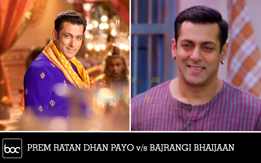 prem ratan dhan payo vs bajrangi bhaijaan collection