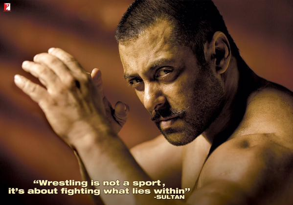 sultan first look salman khan