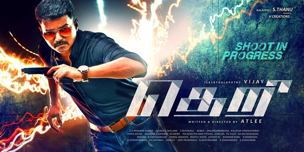 theri tamil vijay movie first look
