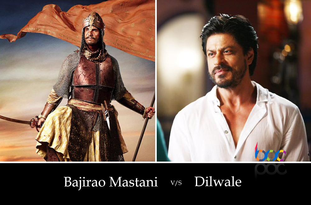 dilwale vs bajirao mastani advance booking