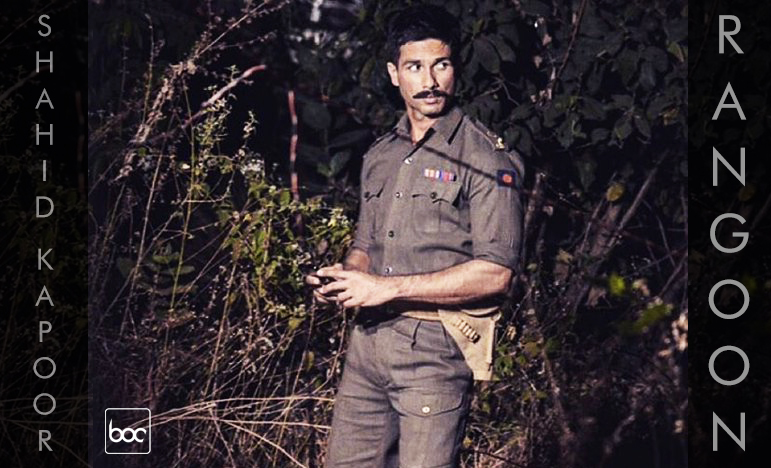 rangoon first look shahid kapoor