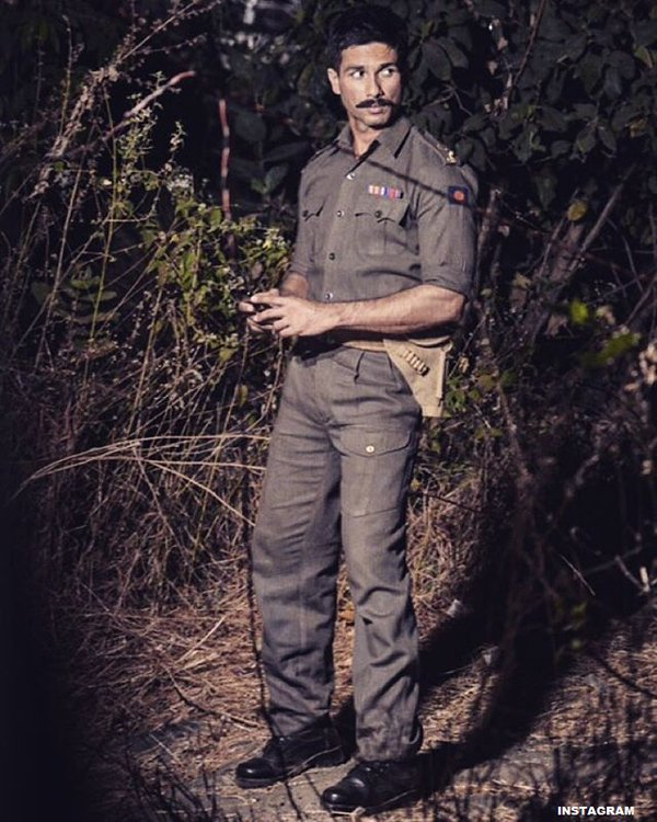 rangoon shahid kapoor soldier look