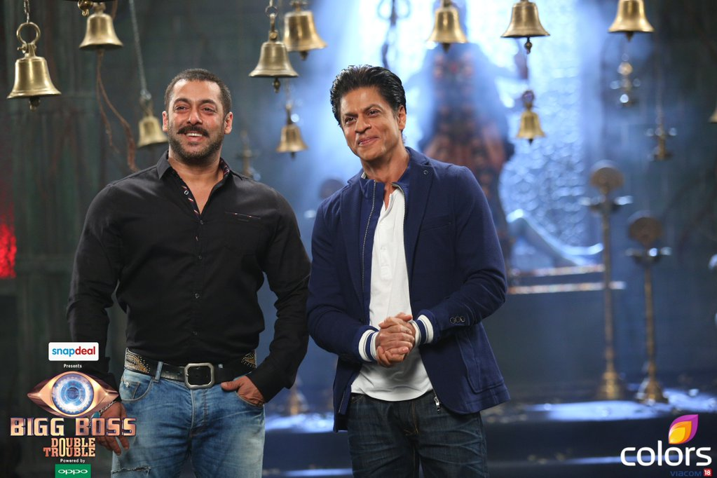 Shahrukh Khan on Salman Khan's Bigg Boss 9 for 'Dilwale' Promotion