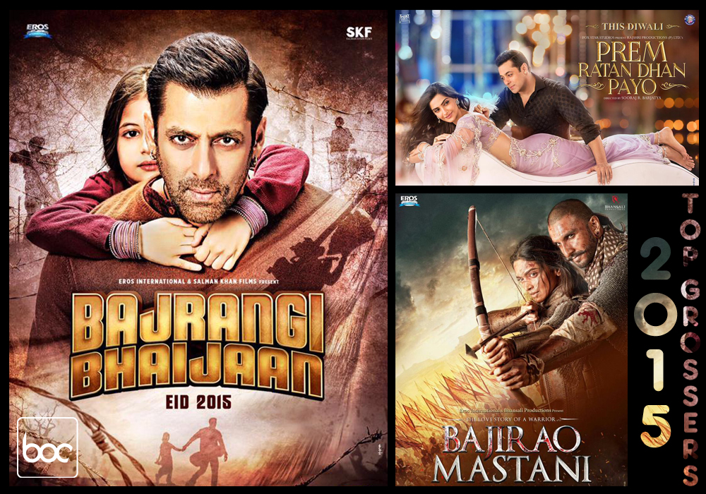 2015 top grossers hindi movies