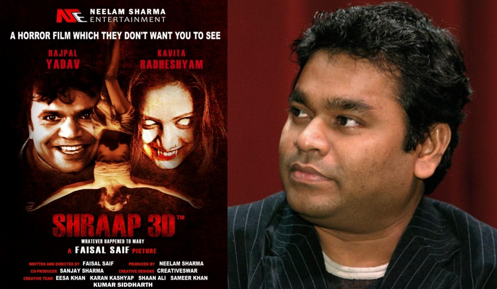 A R Rahman and Shraap