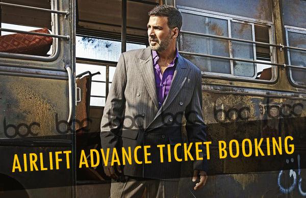 airlift advance ticket booking