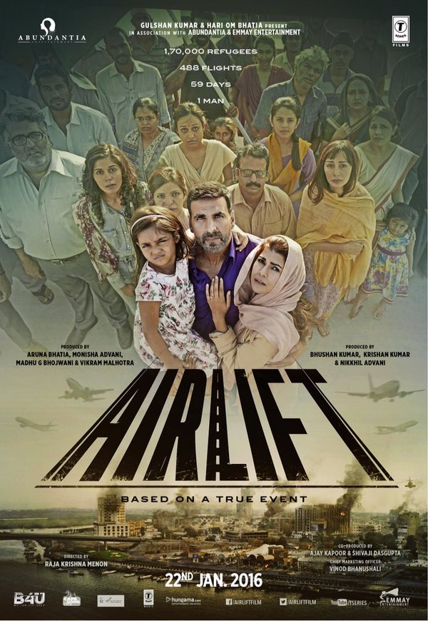 Airlift 2016 Free Movie Download HD 720 - Movies
