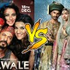 Bajirao Mastani and Dilwale 28th Day Collection, Completes 4 Weeks at Box Office