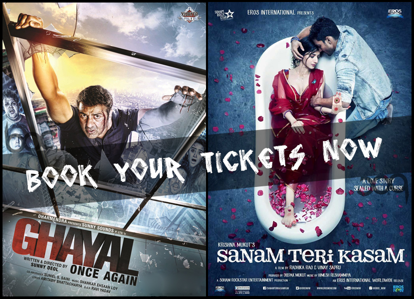 Ghayal-Once-Again--Sanam-Teri-Kasam-Ticket-Booking