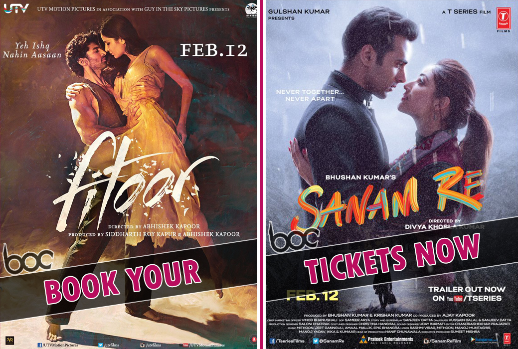 sanam-re-and-fitoor-booking