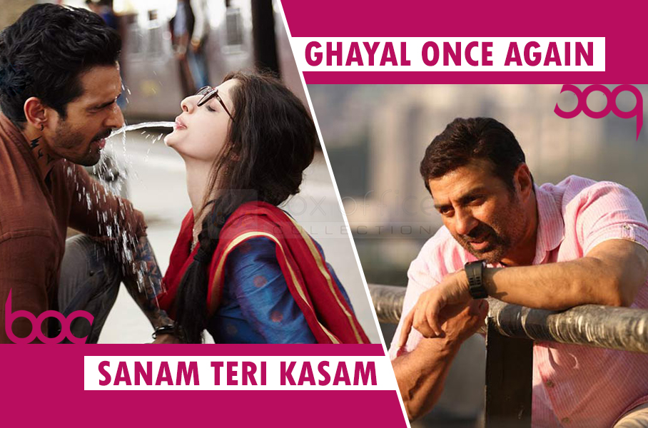 sanam-teri-kasam-and-ghayal-once-again-box-office-collection