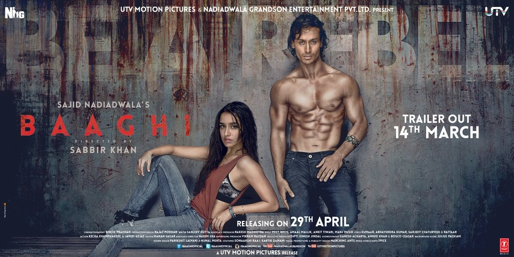 baaghi poster official